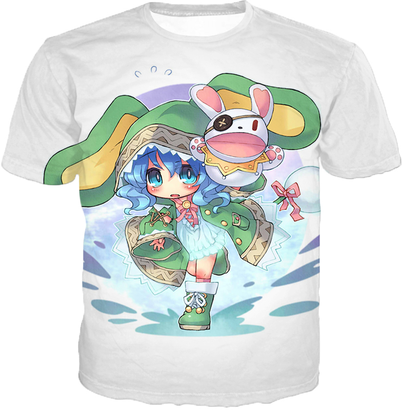 Date A Live Cute Yoshino Tank Top T-Shirt / Xxs