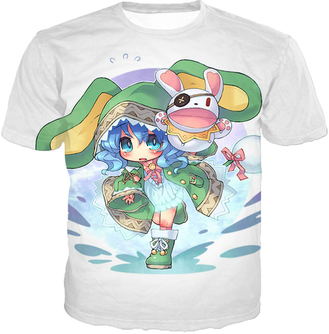 Image of Date A Live Cute Yoshino Tank Top T-Shirt / Xxs