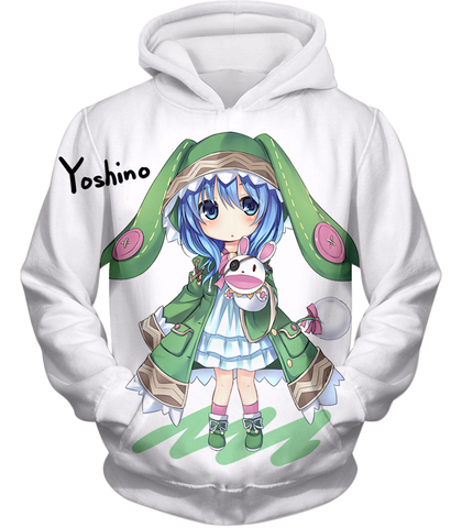 Image of Date A Live Yoshino Tank Top Hoodie / Xxs