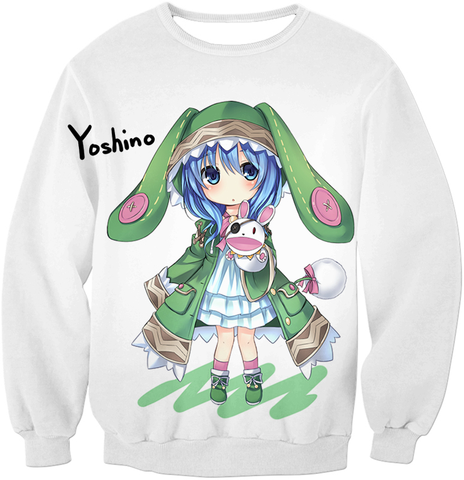 Image of Date A Live Yoshino Tank Top Sweatshirt / Xxs