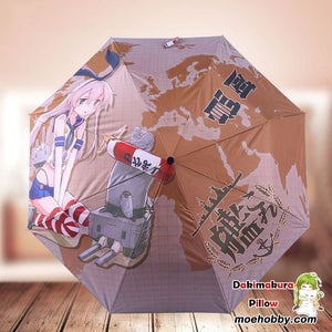 Kantai Collection Shimakaze Foldable Anime Umbrella