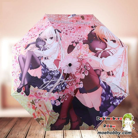 Yosuga No Sora: In Solitude Where We Are Least Alone Kasugano Sora Foldable Anime Umbrella