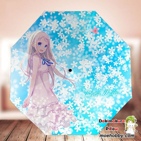 Anohana: The Flower We Saw That Day Honma Meiko Foldable Anime Umbrella