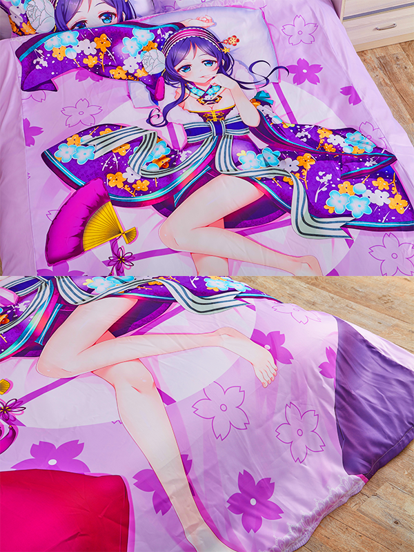 A.i.channel Kizuna Ai Anime Bed Sheets