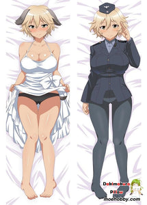 Newly Anime Brave Witches Dakimakura Hugging Body Pillow Case Cover
