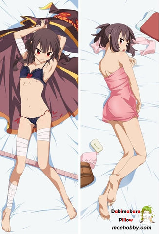Anime Konosuba Gods Blessing On This Wonderful World Dakimakura Otaku Pillow Case Cover Hug Body