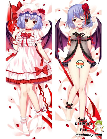Image of Anime Dakimakura Touhou Project Remilia Scarlet Hug Body Pillow Case