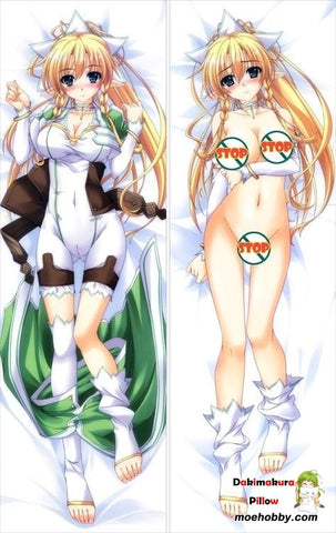 Sword Art Online Silica Anime Dakimakura Waifu Pillow Case