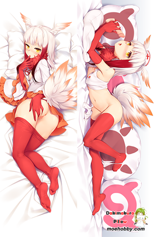 Image of Kemono Friends Crested Ibis Anime Dakimakura Japanese Hugging Body Pillow Cover