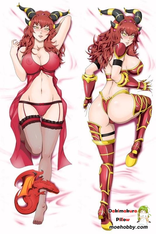 A World Of Warcraft Alexstrasza Anime Dakimakura Pillow Cover