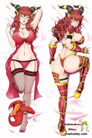 Image of A World Of Warcraft Alexstrasza Anime Dakimakura Pillow Cover