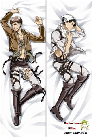 Attack On Titan Levi Ackerman Anime Dakimakura Body Pillow Cover