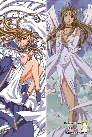 Image of Ah! My Goddess Belldandy Anime Dakimakura Pillow Cover