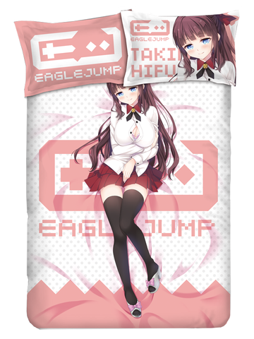 New Game! Takimoto Hifumi Anime Bed Sheets
