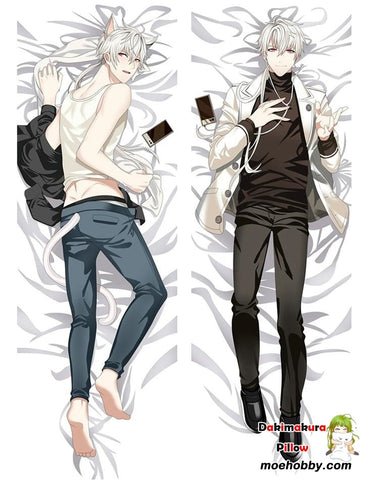 Mystic Messenger Zen Defender Of Justice 707 Anime Dakimakura Pillow Cover