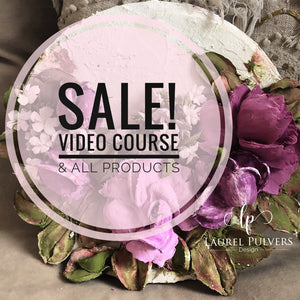 Sale on Online Video Course and all Products! Available through November 30th.