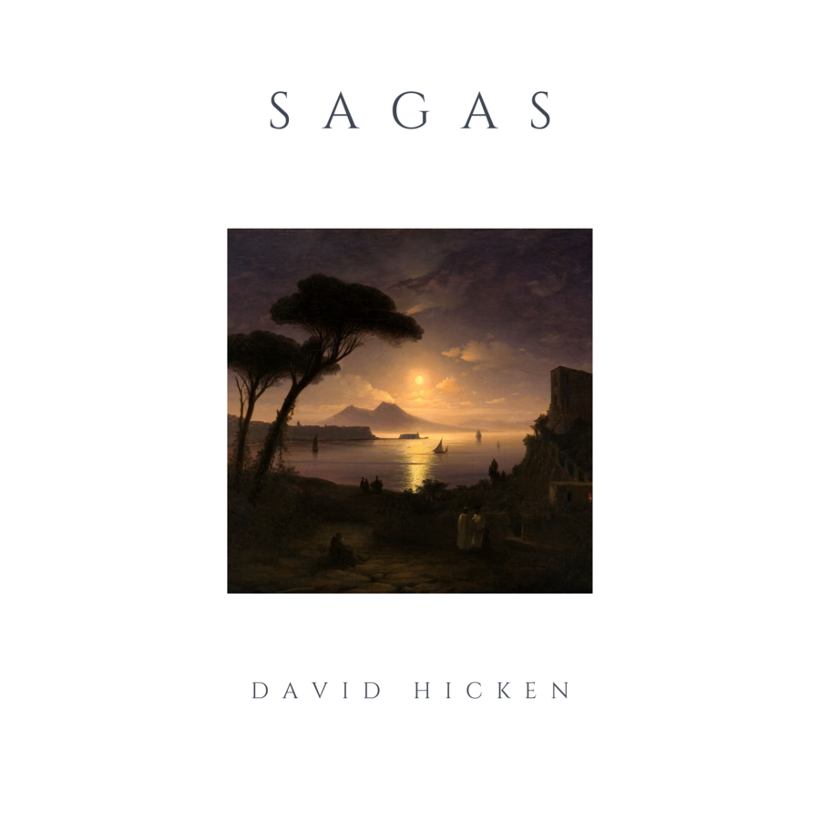 Sagas MP3 Album by David Hicken
