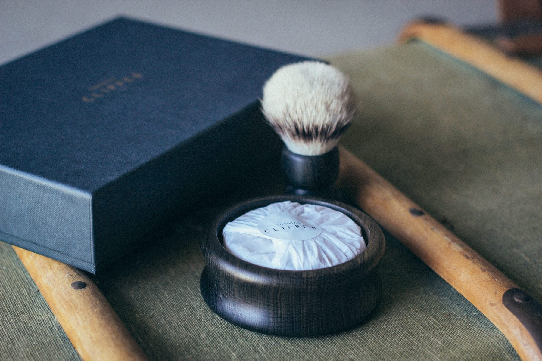 Premium gift box, shaving brush, bowl and soap. Its ancient origin means every morning will be a unique morning indulgence. Made in Britain by Thomas Clipper.