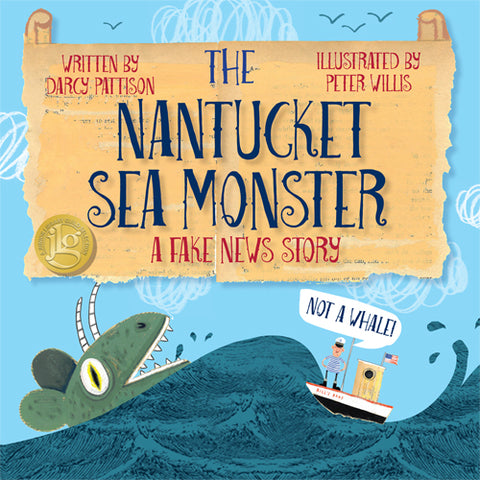Cover - The Nantucket Sea Monster | MimsHouseBooks.com