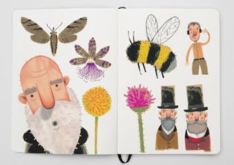 Peter Willis sketchbook