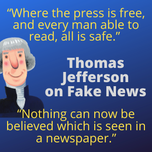 Thomas Jefferson Quotes on Fake News