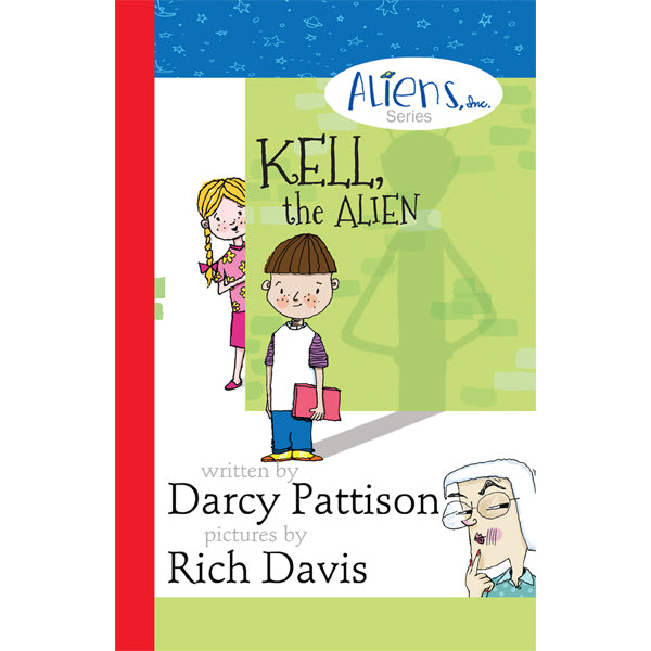 Cover of Kell, the Alien | MimsHouse