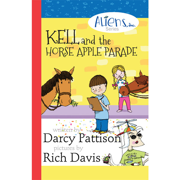 Cover of Kell and the Horse Apple Parade | MimsHouse