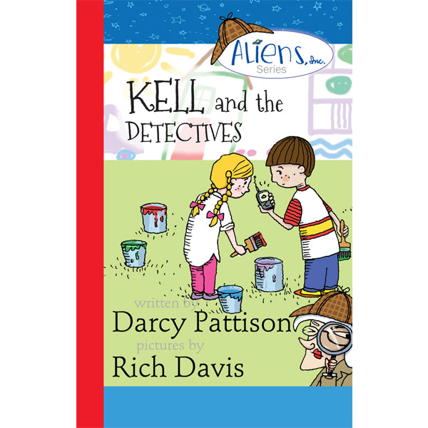 Cover of Kell and the Detectives | MimsHouse