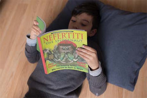 Nefertiti, the Spidernaut | NSTA Outstanding Science Trade Book