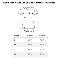 patron T shirt chat Minette