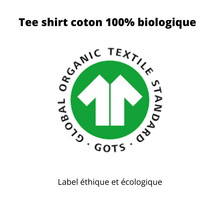 chat ch est bon - label GOTS - tee shirt chat en coton bio - chanatole