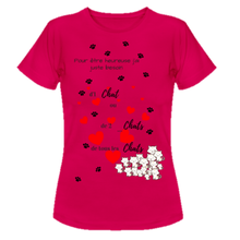 chat ch est bon - tee shirt chat en coton bio - chanatole