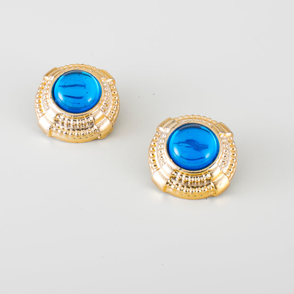 blue vintage jewels