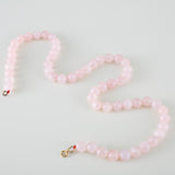 chocker perle rosa