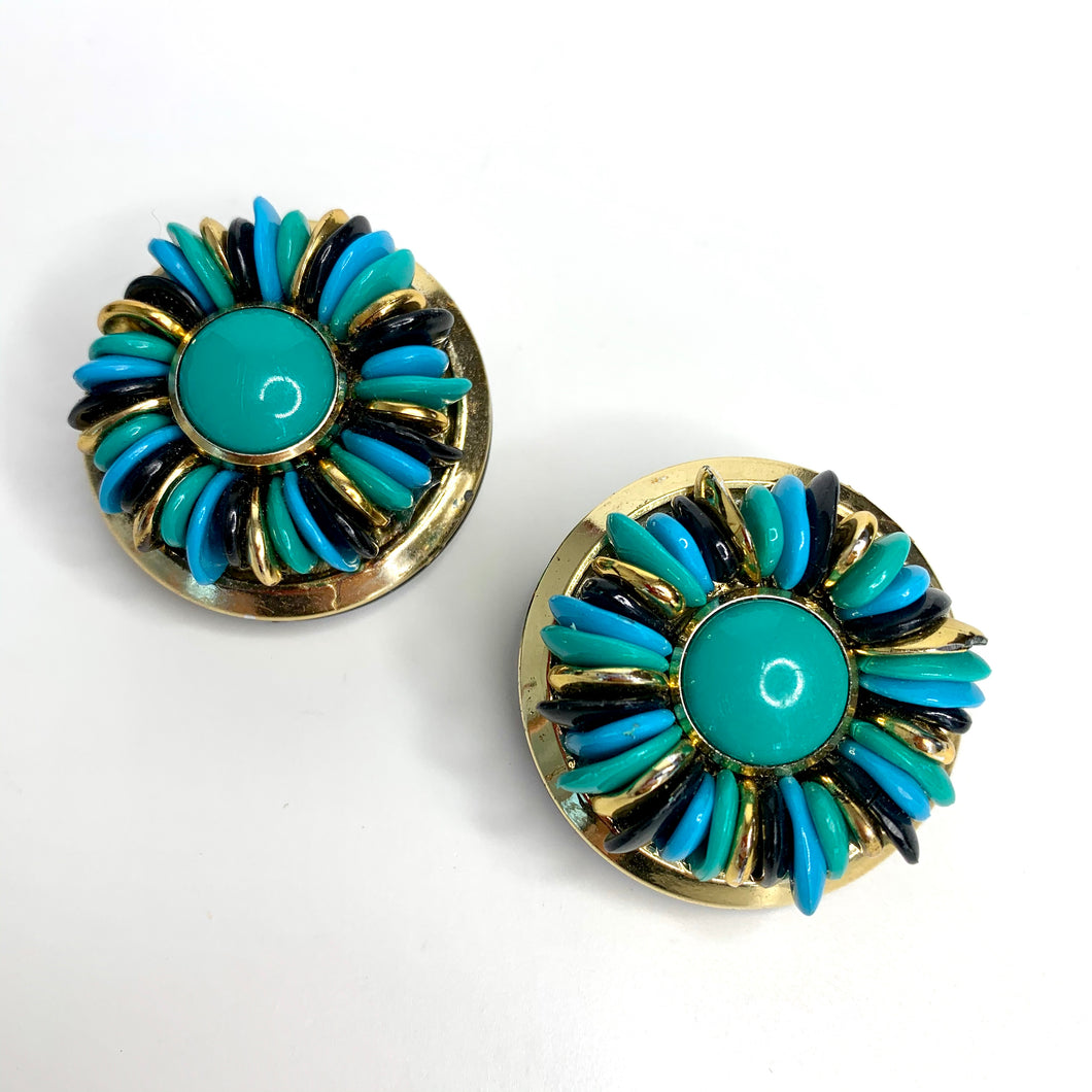 vintage earrings italian style orecchini donna