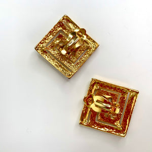 gucci vintage earrings