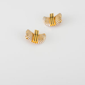 italian vintage earrings orecchini oro