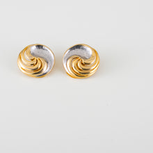 Load image into Gallery viewer, italian classy vintage earrings orecchini oro