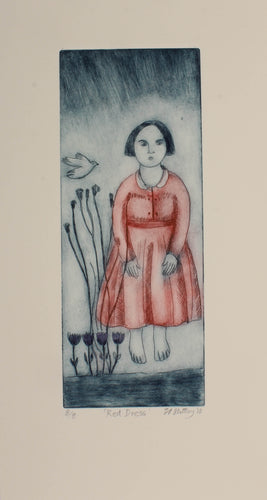 Red Dress by Nicola Slattery