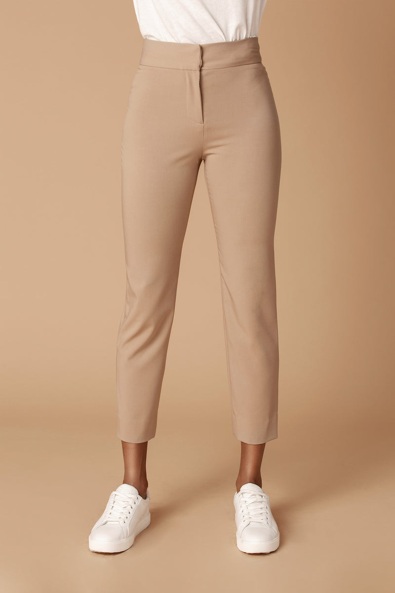 The Tailored Ankle Pant in Camel