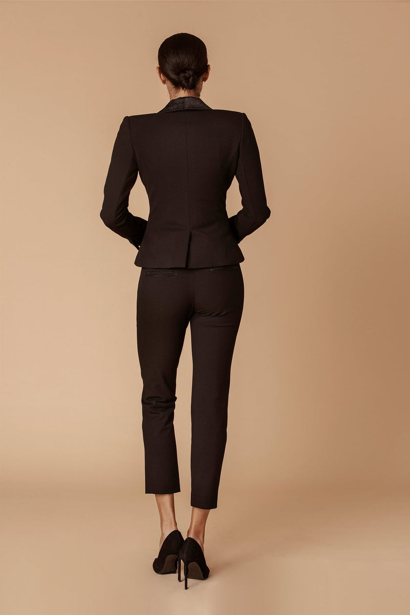 The Tailored Tuxedo Ankle Pant