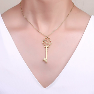 Load image into Gallery viewer, Necklace: key to the heart