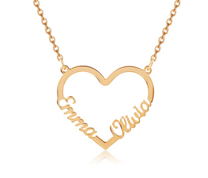 Love namen ketting