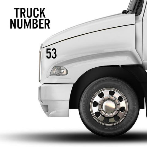 truck-required-decals-truck number decal