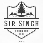 Company Name Decal with Tree