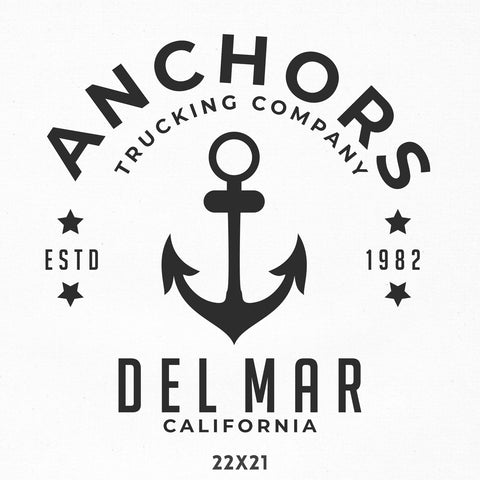 Company Name Decal, Boat, Seafood