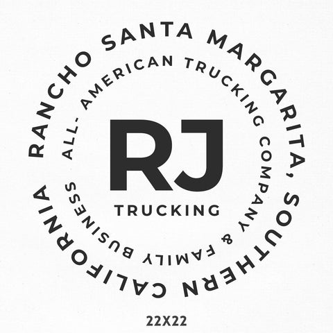 Company Name Truck Decal