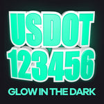 usdot decal glow in the dark