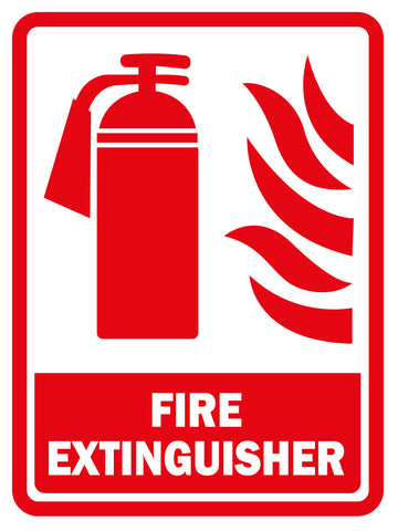required fire extinguisher
