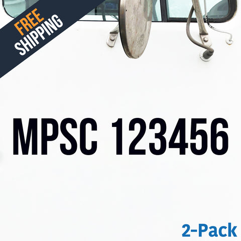 MPSC decal